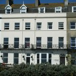 View of front of Leam Hotel
