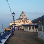 Eastbourne pier evening