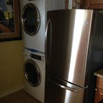 Washer/Dryer + Fridge
