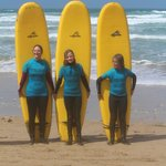 lot's of fun at Fistral Beach
