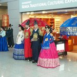 Traditional Costume display at the Cultural Center