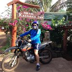 Exploring Rapa Nui on two wheels