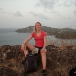 On top of Pigeon Island