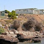 Cliff top cabins