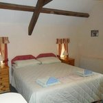 One of the double bedrooms in Dovecote