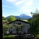 Awesome view of the Alps from our windows