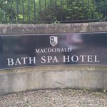 Foto de Macdonald Bath Spa Hotel