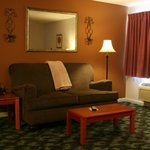 Sitting area of 2 Room Suite