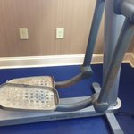 rusted workout machine