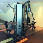 Weightlifting Equipment in Fitness Center