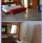 Bedroom and bath room