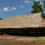The longhouse guests stay in