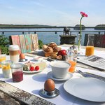 Breakfast at the terrace