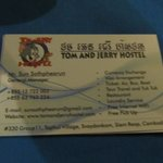 The hotels card