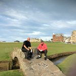 swilken bridge, st andrews old course