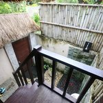 Nanuks Lembongan Bungalows - Tamarind Beach - Bali - Indonesia - Wandervibes - bathroom from bed