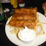 Very tasty fish n chips