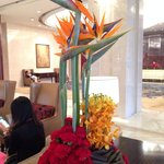 Floral Decoration in the Lobby