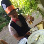 Mad Hatters Tea Party at Perch Inn