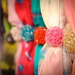 Hand crafted silk scarves
