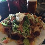 Heaven is...Nachos and Beer at the Harp Pub!!