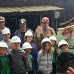 The kids learn a lot - especially that coal mining is hard and dangerous work!