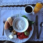 A full Turkish breakfast included with the room.