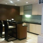 kitchen in grand suite