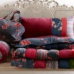 Soft furnishings including cushions & throws