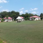 Bungalows in spacious grounds