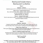 Restaurantweek 2 - 8 june 2014