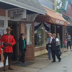 RCMP take a visit to this 1920's Village