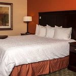Relax in a king bed guest room.