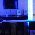 Bar at pool area