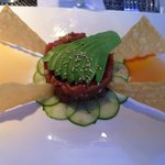 Tuna Poke ; as DELICIOUS as it looks!, GREAT JOB !! Can't wait to come back and the new decor wa