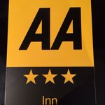 We are now officially 3 star rated by the AA