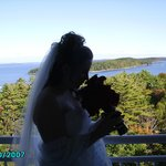 Wedding morning in Bar Harbor.