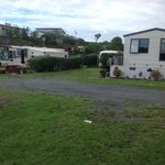 Foto van Napier Beach Kiwi Holiday Park and Motels