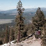 View @ Northstar's peak - overlooking Martis Valley