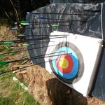 My partners archery skills