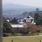 Kanazawa Castle and Mountain Outlook