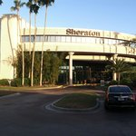 Front view of Sheraton