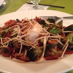 "My dinner entree at the ""Elephant Walk"" restaurant- Stir Fry Vegetables with rice. Absolutely de"