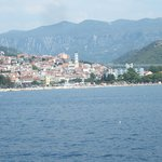 Crikvenica from the sea