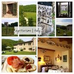 Collage of photos from our favorite BnB in Italy :o)