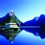 The JUCY Maiden of Milford cruising the Sound