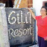 A Guest staying at Gili T ��