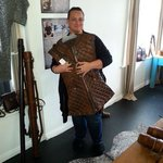 A visit with the leather artists from the movies