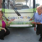 Our all-electric Garden ShUTtle