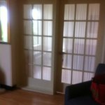 Double Glass Pane Doors